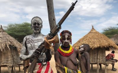 A Look at the Kara Tribe, Ethiopia's Famous Body Painters